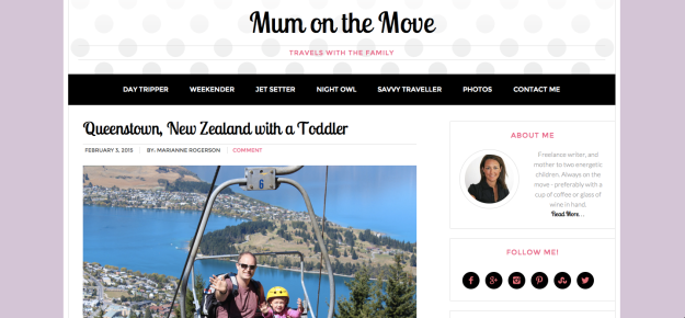 mum on the move family travel blog
